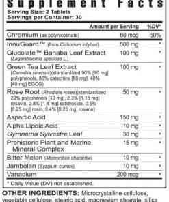 Glucogenix – 60 Tablets