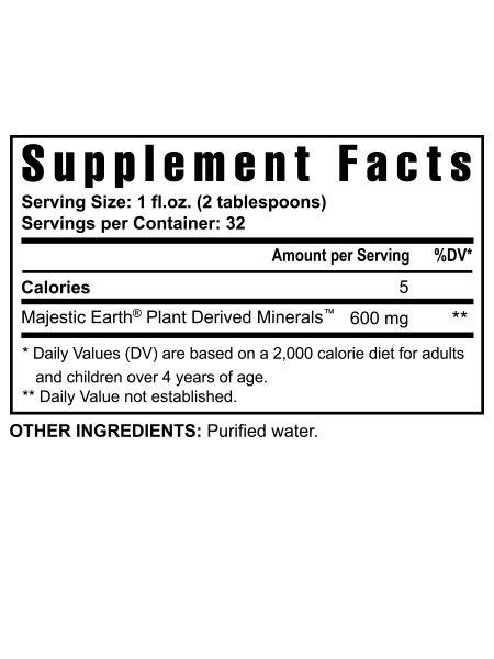 Plant Derived Minerals™ – 32 fl oz