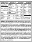 Slender FX Keto Caramel Bars (10 ct) - Supplements Facts