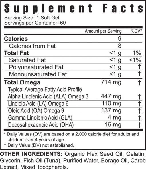 Ultimate EFA™ – 60 soft gels
