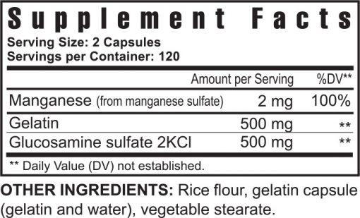 Ultimate Gluco-Gel - 240 capsules