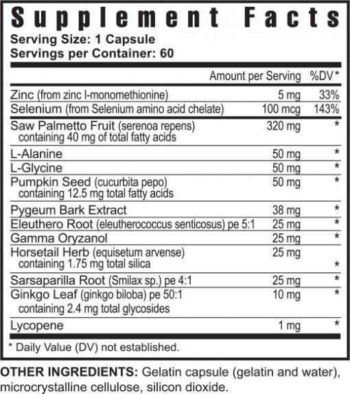 Ultimate Prost Fx™ – 60 capsules (4 Pack)