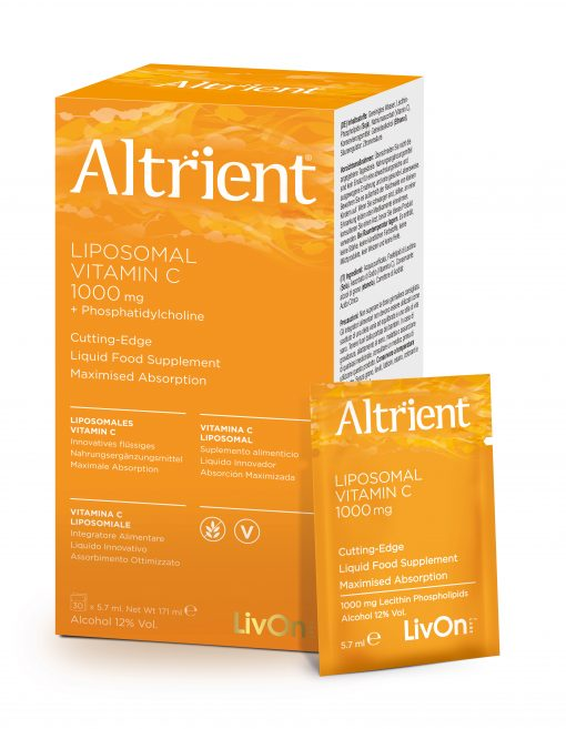 Altrient vitamin C box with sachet